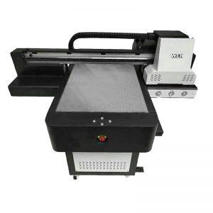 ചെറിയ വലുപ്പത്തിലുള്ള ഉയർന്ന നിലവാരമുള്ള ഫോൺ കേസ് UV പ്രിന്റർ WER-ED6090UV