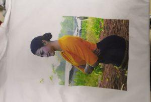 WER-EP6090T പ്രിന്ററുകളിൽ നിന്ന് Burma ക്ലയന്റിനായി T ഷർട്ടുകൾ അച്ചടി സാമ്പിൾ